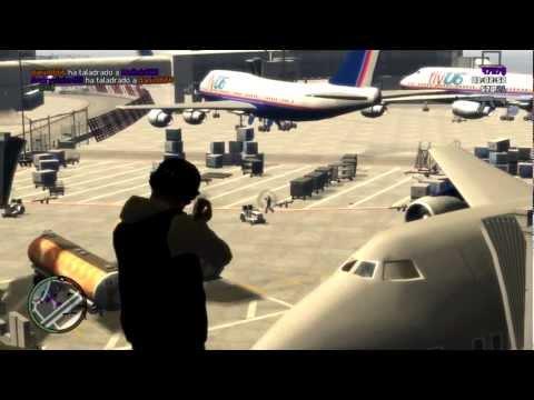 GTA 4 Online HD - ¡Partida INCREIBLE! Salvando al equipo =P