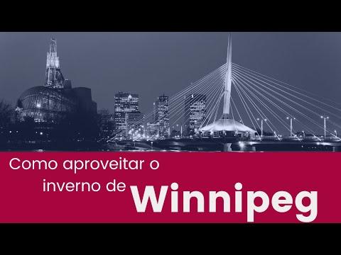 Vida no inverno de Winnipeg | O que fazer, beleza natural e depoimentos