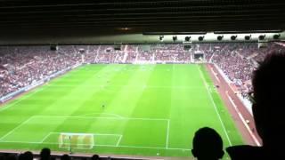 Chelsea fans at Sunderland - Costa Goal & Adam Johnson Taunt