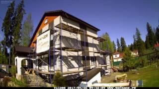 видео Фасадный декор дома. Оформление фасада дома в формате ландшафтной композиции.