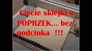 # 253 Ciecie sklejki ... bez podcinaka , w Poprzek - Jaka tarcza jest dobra?