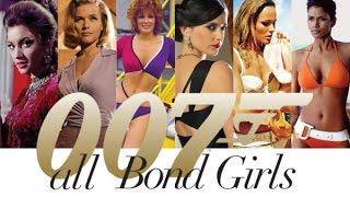All BOND GIRLS - Все ДЕВУШКИ БОНДА с Dr. No 1962 по 2018 agent 007