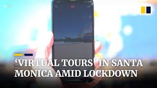 As tourists leave California, Santa Monica guide offers 'virtual tours' amid lockdown