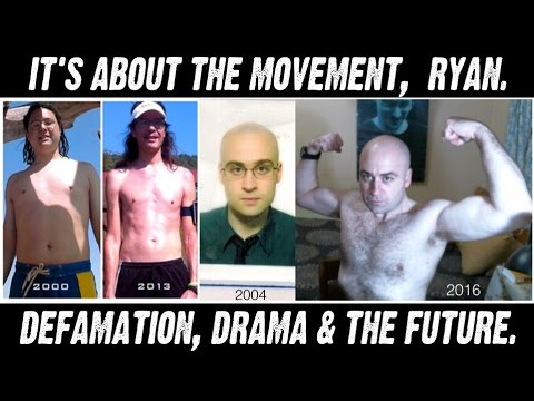 "Vegan ""Drama"" is not Activism, It's Defamation, Ryan. (Happy Healthy Vegan, HHV)"