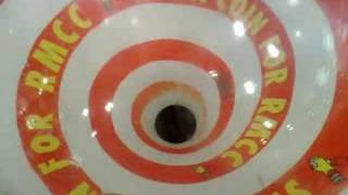 Spinning charity box in McDonalds