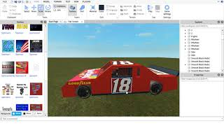 My own 2013 Nascar made in ROBLOX Studio (Toyota Camry)