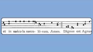 Dignus Est Agnus (Christ the King, Introit)
