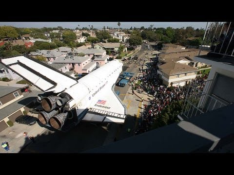 where is endeavour space shuttle right now - photo #14