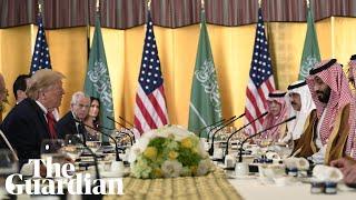 Donald Trump says the Saudi crown prince is doing a 'spectacular job'