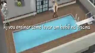 Como trazer um bebê para a piscina no the sims freeplay