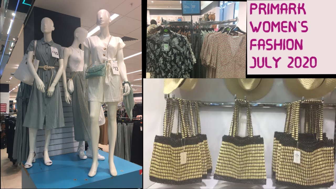 What's New In Primark, Women's Fashion, July 2020
