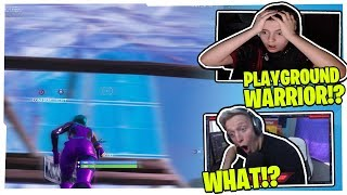 TFUE & CLIX SHOCKED WHEN SPECTATING SWAY DESTROY EVERYONE WITH HIS PLAYGROUND SKILLS!