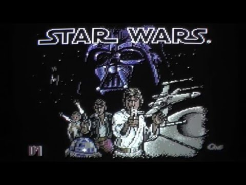 Let's Compare: Star Wars Arcade (2600/800XL/C64/Spectrum/CPC/ST/Amiga)[Parker vs. Domark]
