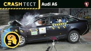 Audi A6. Краш-тест. (УКР)