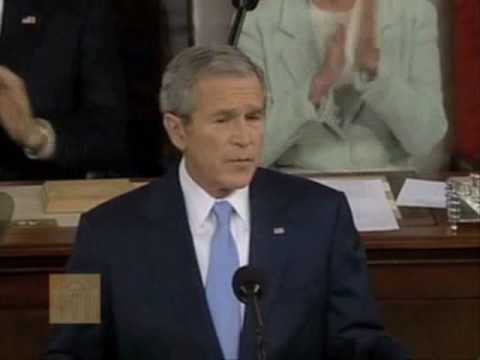 State Of Union Jan 23 2007 >> George W Bush State Of The Union Address January 23 2007 Youtube