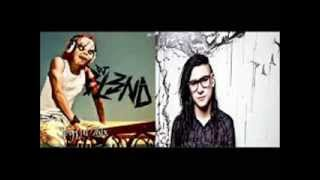 mezcla skrillex vs dj bl3nd