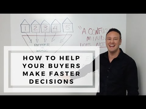 How Realtors Help Buyers Make Faster Decisions