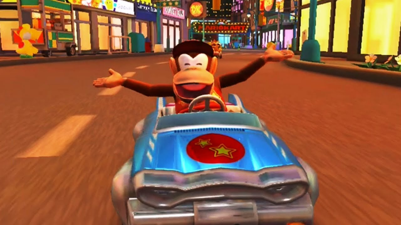 Mario Kart Tour - Diddy Kong Cup 150cc (Diddy Kong Gameplay) - YouTube