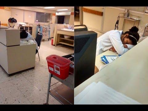 Blogger Shaming A Sleeping Doctor Receives Comeback