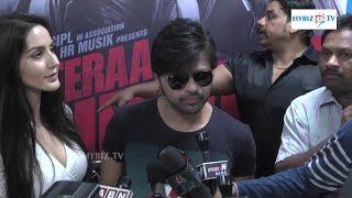 Himesh Reshammiya Tera Suroor 2 Movie Promotion at Yes Mart Hyderabad