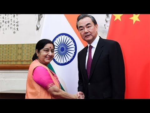 Beijing: Sushma Swaraj holds delegation-level talks with Chinese foreign minister Wang Yi