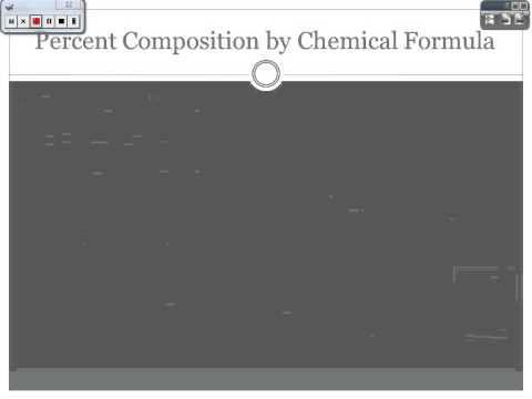 how to find molecular formula from percent composition