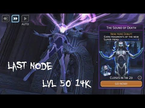 Silver Banshee event 2 last node with 14k lvl 50 team