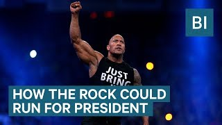How Dwayne 'The Rock' Johnson could make a real run as president