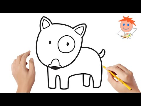 how-to-draw-a-bull-terrier-dog-easy-step-by-step-|-drawing-for-kids-💖