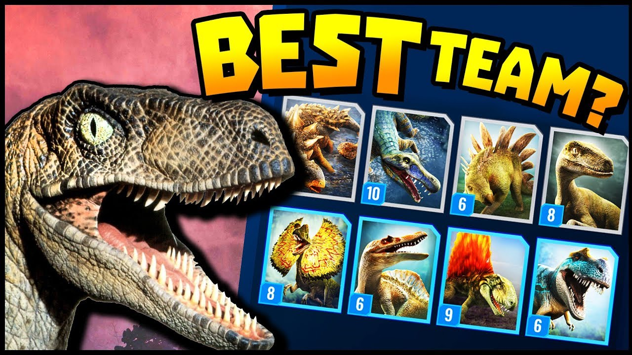 Jurassic World Alive - BEST TEAM FOR EARLY GAME!? (Jurassic World Alive  Gameplay Ep  3)