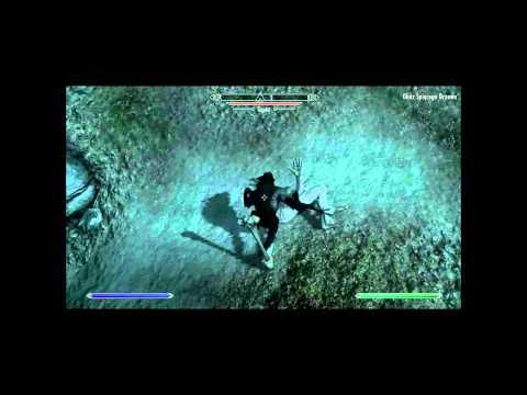 The Elder Scrolls V: Skyrim #4 -  Poradnik:Zabicie Giganta (wilkołak)