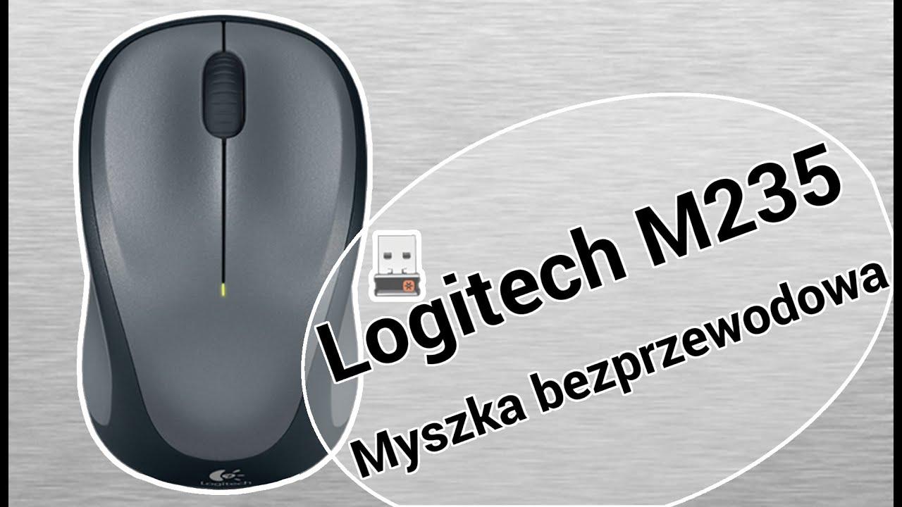 a525081be21 Logitech M235 Rozpakowanie Unboxing Bezprzewodowa Myszka [IT Serwis ...
