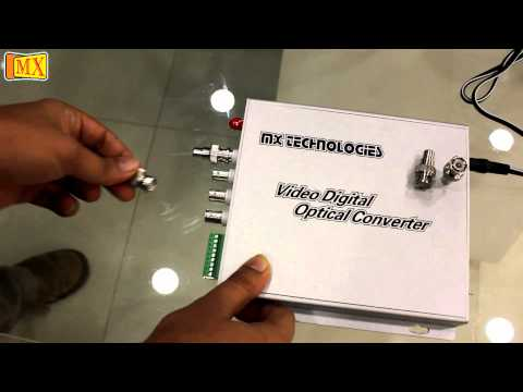 How To Extend Analog Video & Audio Signal Data Over Fibre Optic Cable Upto 2 KMs