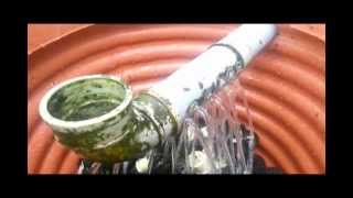 4 in 1 filteration for koi pond combining biofilter/ moving bed/ trickle/ plants