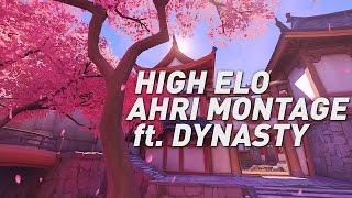 High Elo Ahri Montage ft. Dynasty