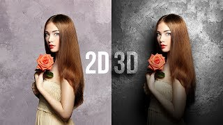 Gambar cover Convert Flat 2D to Real 3D in Photoshop!