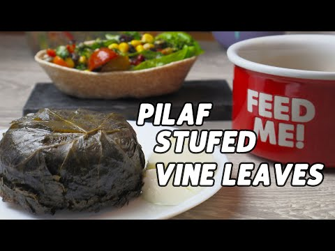 Grilled VEGETABLES Soup   Mixed Wild Rice Stuffed Vine Leaves   GREAT Bean Salad   MASTERCHEF MENU