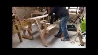 Folding Picnic Table Garden Bench.