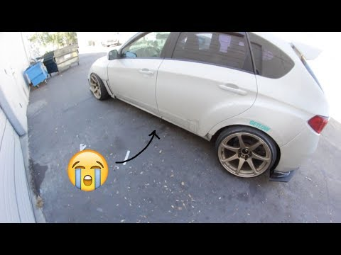 Losing Car Parts On The Freeway!