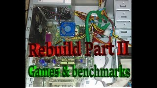 CGS Coop's Lab - Re-Build Project Part II: Benchmarks and playing games!