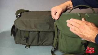 DOMKE F2 Camera Bag in Olive Drab Green, Review