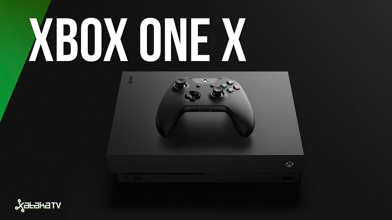 Xbox One X Asi Es La Consola Mas Potente Del Mercado Youtube