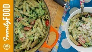 Creamy Pesto And Broccoli Pasta | A Recipe From Channel Mum