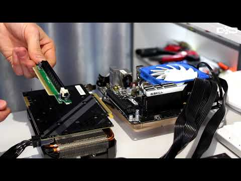 ТЕСТ разных PCIe X16 Riser шлейфов 3D Mark