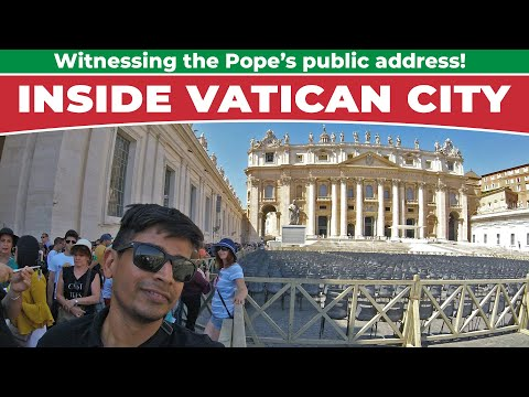 Vatican City: Witnessing The Pope's Address!!
