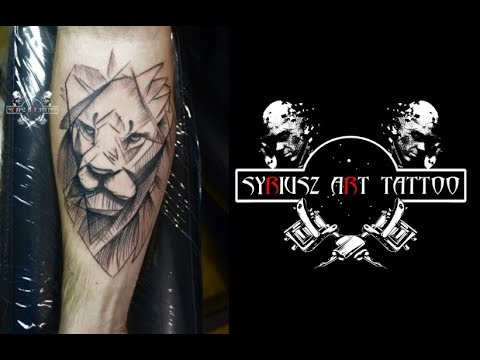 BEAUTIFUL LION TATTOO 2018