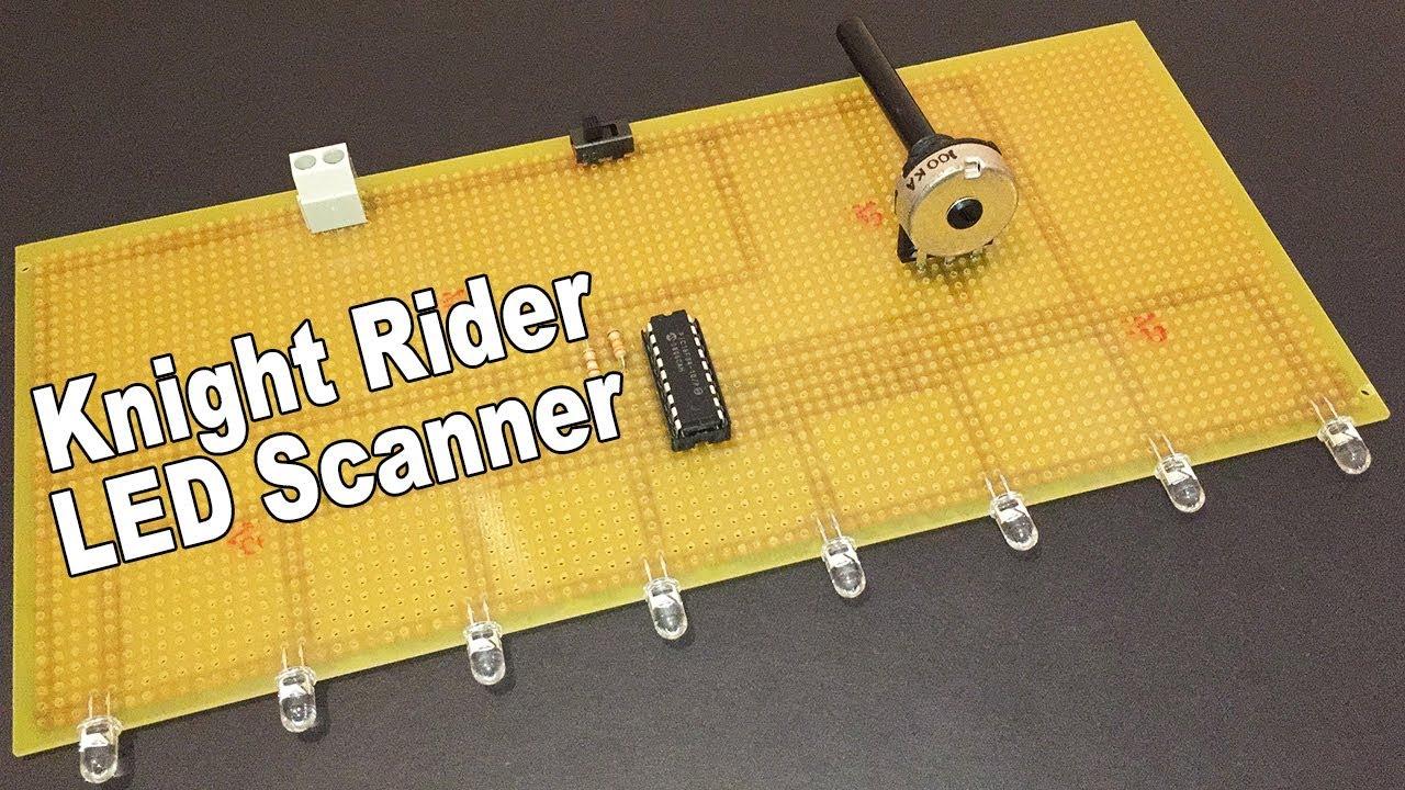 Led Scanner Circuit