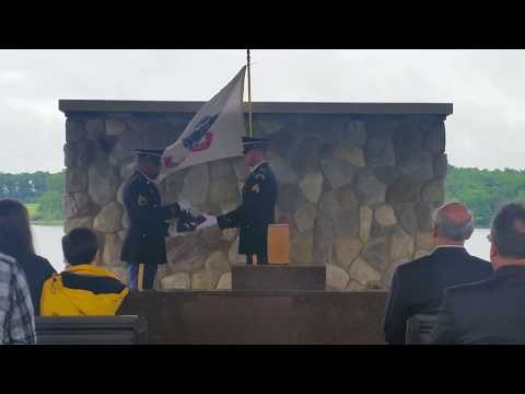 Great Lakes National Cemetery service for Uncle Willie