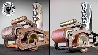 Rusty Vintage Tape GUN Restoration