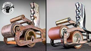 Rusty Vintage Tape GUN Restoration